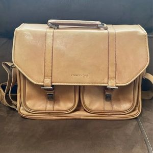 Kenneth Cole New York Leather Briefcase